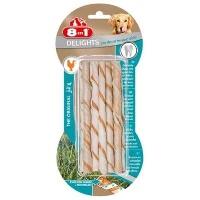 8IN1 Delights Dental Twisted Sticks Köpek Ödül 10 lu 55 GR