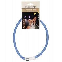 BEEZTEES Işıklı Köpekek Boyun Tasma Mavi 10 MM