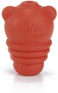 BEEZTEES Sumo Mını Köpek Oyuncak Kırmızı Xs 5 CM