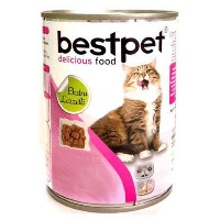 BEST PET Tavşan Etli Yetişkin Kedi Konserve 415 GR
