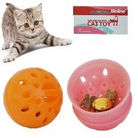 BIOLINE Meyan Kökü Kokulu Top Kedi Oyuncak