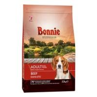 BONNIE Yetişkin Biftekli Köpek Maması 2,5 KG