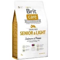 BRIT Care Tahılsız Light Somonlu Yaşlı Köpek Maması 3 KG