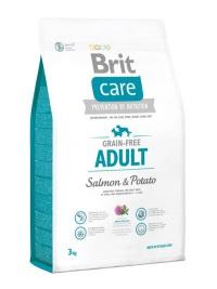 BRIT Care Tahılsız Somonlu Küçük Ve Orta Irk Köpek Maması 3 KG