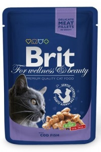 BRIT Premium Morina Balıklı Pouch Kedi Konserve 100 GR