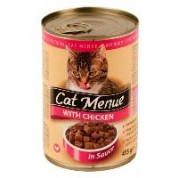 CAT MENUE Tavuklu Kedi Konserve 415 GR