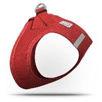 CURLI Air-Mesh Köpek Göğüs Tasması Kırmızı XL