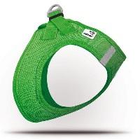 CURLI Air Mesh Köpek Göğüs Tasması Yeşil XL