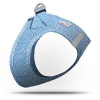 CURLI Air-Mesh Köpek Göğüs Tasması Mavi XL