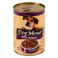 DOG MENUE Hindili Köpek Konserve 415 GR