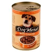 DOG MENUE Kümes Hayvanlı Köpek Konserve 415 GR