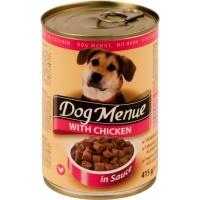 DOG MENUE Tavuklu Köpek Konserve 415 GR