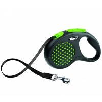 FLEXI Desing Otomatik Şerit Köpek Gezdirme Tasma M Yeşil 5 MT