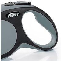 FLEXI New Comfort Otomatik Şerit Köpek Gezdirme Tasma S Gri 5 MT