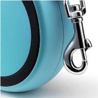 FLEXI New Comfort Otomatik Şerit Köpek Gezdirme Tasma S Mavi 5 MT