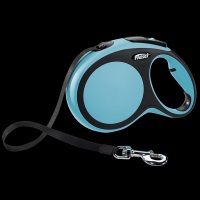FLEXI New Comfort Otomatik Serit Köpek Gezdirme Tasma L Mavi 8 MT