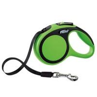 FLEXI New Comfort Otomatik Şerit Köpek Gezdirme Tasma S Yeşil 5 M
