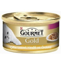 GOURMET Gold HIndiIi & Ördekli Kedi Konserve 85 GR