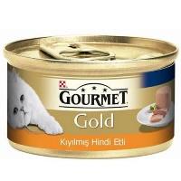 GOURMET Gold Kıyılmış Hindi Etli Kedi Konserve 85 GR