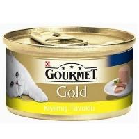 GOURMET Gold Kıyılmış Tavuklu Kedi Konserve 85 GR