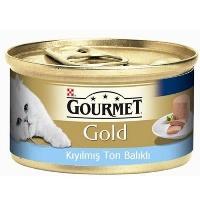 GOURMET Gold Kıyılmış Ton Balıklı Kedi Konserve 85 GR