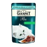 GOURMET Perle Izgara Alabalıklı Sebzeli Pouch Kedi Konserve 85 GR