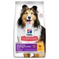 HILLS Sensitive Stomach Skin Hassas Derili Köpek Maması 2,5 KG