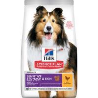 HILLS Senstıve Stomach Skın Tavuk Etli Yetişkin Köpek Maması 14 KG