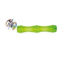 IMAC ICC830 Osso Led Işıklı Kaucuk Köpek Oyuncak Yeşil 17,6 CM
