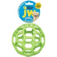JW 43112 Esnek Plastik Delikli Top Köpek Oyuncak L