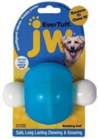 JW 46124 Evertuff Tavuklu Çiğneme Top Köpek Oyuncak L