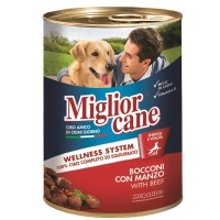 MIGLIOR CANE Biftek Köpek Konserve 405 GR