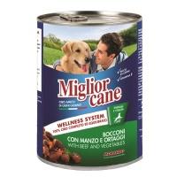 MIGLIOR CANE Biftek ve Sebze Köpek Konserve 405 GR