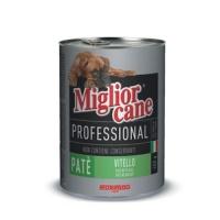 MIGLIOR CANE Profosyonel Biftekli Köpek Konserve 405 GR