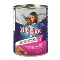 MIGLIOR GATTO Kuzu&Ciğer Pate Kedi Konserve 400 GR