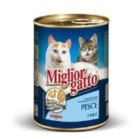 MIGLIOR GATTO Okyanus Balıklı Kedi Konserve 405 GR