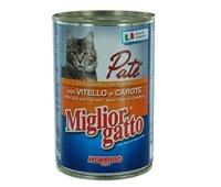MIGLIOR GATTO Somon&Ton Pate Kedi Konserve 400 GR