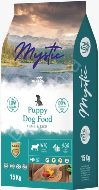 MYSTIC Az Tahıllı Kuzu Etli Yavru Köpek Maması 15 KG