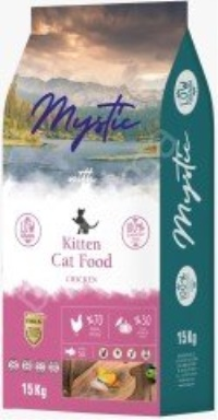 MYSTIC Az Tahıllı Tavuklu Yavru Kedi Maması 15 KG