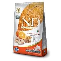 ND Dusuk Tahıllı Balıklı&Portakalli Orta Irk Köpek Maması 2,5 KG