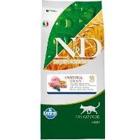 ND Dusuk Tahıl Kuzu Etli&Yaban Mersin Yetişkin Kedi Maması 10 KG