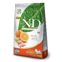 ND Tahılsız Balık&Portakal Küçük Irk Yetişkin Köpek Maması 2,5 KG