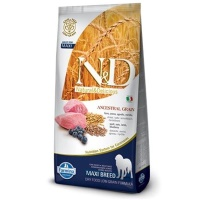 ND Dusuk Tahıllı Kuzu &Yaban Mersin Büyük Irk Köpek Maması 12 KG