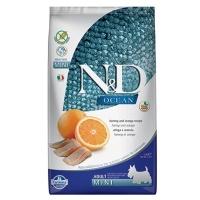 ND Ocean Tahılsız Balık Portakal Küçük Irk Köpek Maması 2,5 KG