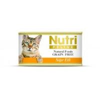 NUTRI FELINE Tahılsız Sığır Etli Kedi Konserve 80 GR