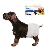 PAWISE Köpek Alt Bağlama Bezi 12 li