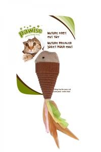 PAWISE Nature First Balık Kedi Oyuncak
