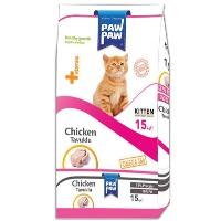 PAWPAW Tavuklu Yavru Kedi Maması 15 KG