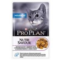 PRO PLAN NUTRI Housecat Hindili Pouch Kedi Konserve 85 GR