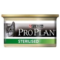 PRO PLAN Kısırlaştırılmış Ton ve Somonlu Kedi Konserve 85 GR
